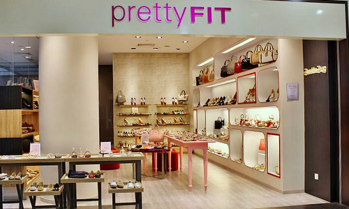 prettyFIT shoe & accessories shop Century Square Singapore.