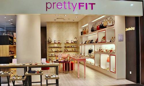 prettyFIT shoe & accessories shop Century Square Singapore.