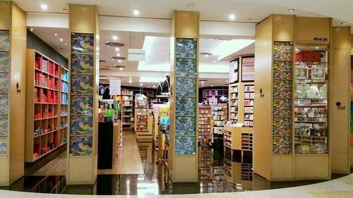 Prints stationery store ION Orchard Singapore.