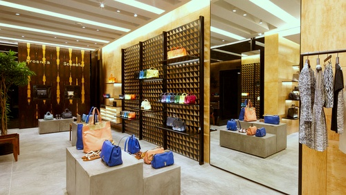 Proenza Schouler store The Shoppes at Marina Bay Sands Singapore.