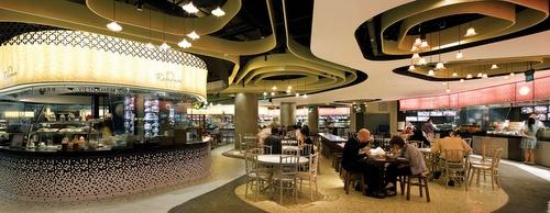 Rasapura Masters Street Food Stalls Marina Bay Sands Singapore.