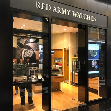 Red Army Watches store Singapore.