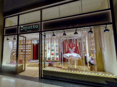 Repetto store at The Shoppes at Marina Bay Sands Singapore.