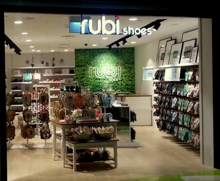 Rubi Shoes store Clement Mall Singapore.