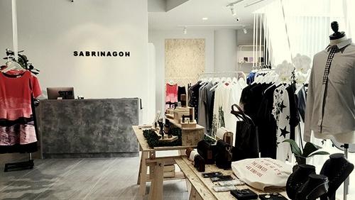 SABRINAGOH clothing store Capitol Piazza Singapore.