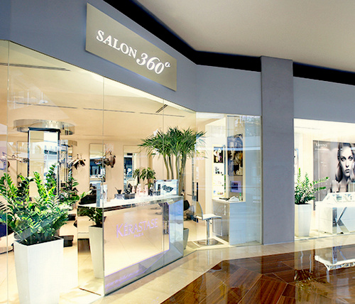 Salon 360° The Shoppes at Marina Bay Sands Singapore.