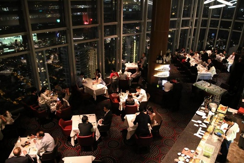 Salt Grill & Sky Bar Australian restaurant ION Orchard Singapore.