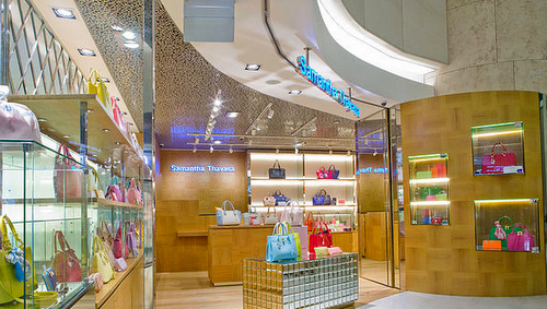 Samantha Thavasa bag store ION Orchard Singapore.