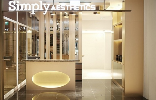 Simply Aesthetics beauty salon Capitol Piazza Singapore.