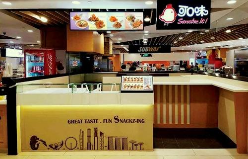 Snackz It! restaurant JCube Singapore.