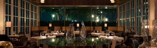 Spago by Wolfgang Puck restaurant Marina Bay Sands Singapore.