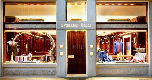 Stefano Ricci men's clothing store Marina Bay Sands Singapore.