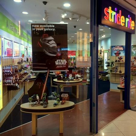 Stride Rite children's shoe store United Square Singapore.