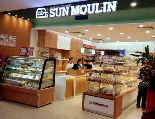 Sun Moulin Yamazaki Japanese bakery VivoCity Singapore.