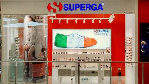 Superga shoe store VivoCity Singapore.