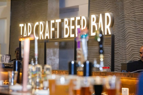TAP Craft Beer Bar Capitol Piazza Singapore.