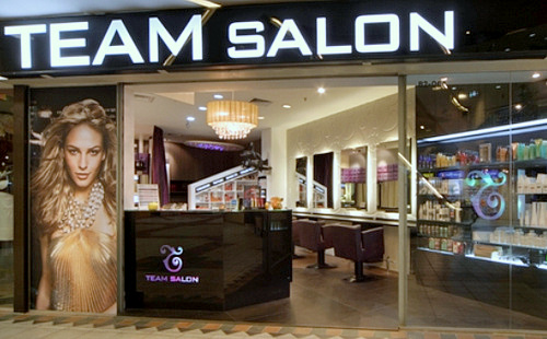 Team Salon hair salon Bukit Timah Plaza Singapore.