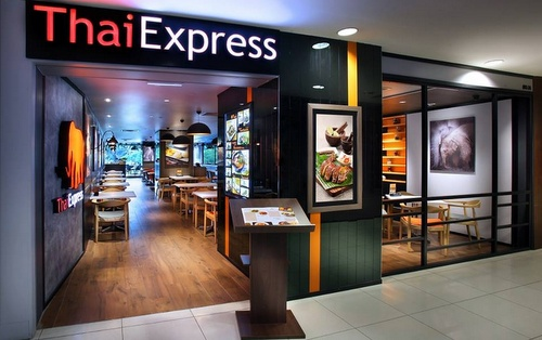 ThaiExpress restaurant Plaza Singapura Singapore.