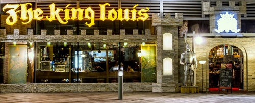 The King Louis Grill & Bar restaurant VivoCity Singapore.