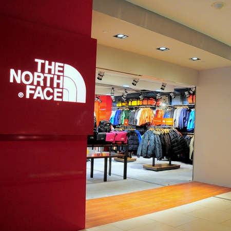 The North Face store Westgate Singapore.