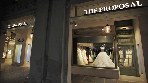 The Proposal bridal store Capitol Piazza Singapore.