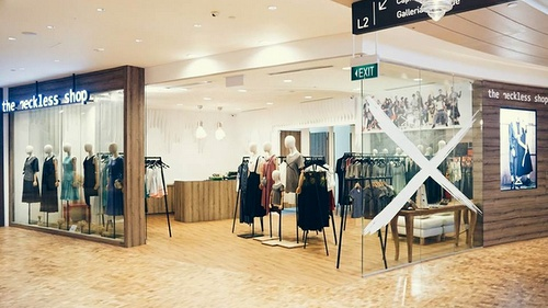 The Reckless Shop Capitol Piazza Singapore.