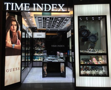 Time Index watch shop Capitol Piazza Singapore.