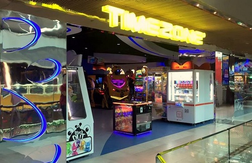 Timezone game arcade Singapore.
