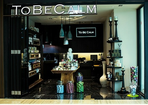 To Be Calm shop Capitol Piazza Singapore.