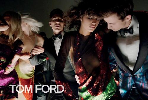 Tom Ford clothing.
