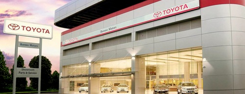 Toyota Ubi showroom dealership Singapore.