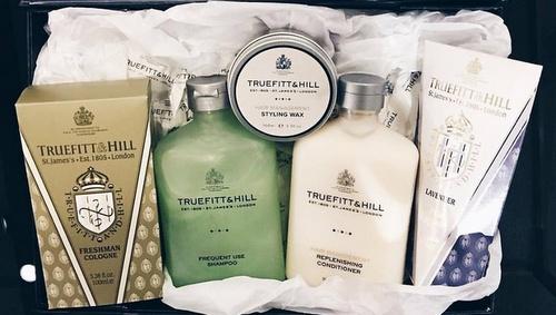Truefitt & Hill products.