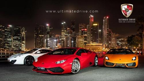 Ultimate Drive car rental Singapore.