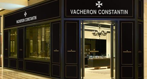 Vacheron Constantin watch store Marina Bay Sands Singapore.