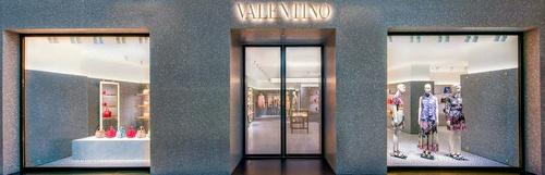 Valentino shop The Shoppes at Marina Bay Sands Singapore.