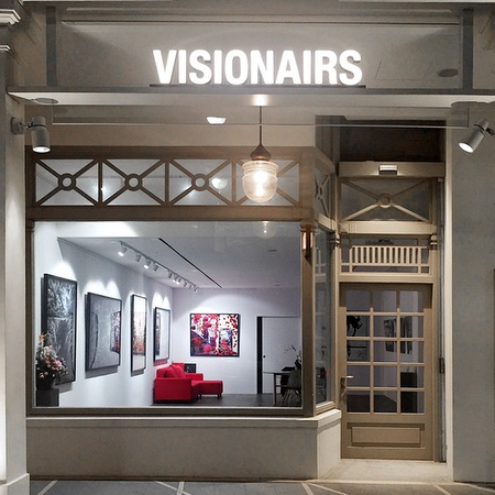 Visionairs Gallery photography art gallery Capitol Piazza Singapore.
