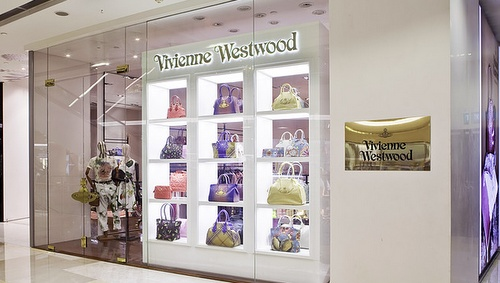 Vivienne Westwood store ION Orchard Singapore.