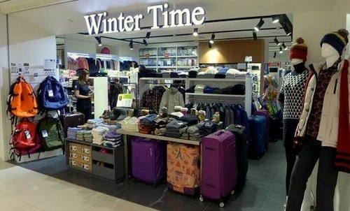 Winter Time store Junction 8 Singapore.