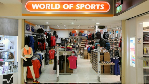 World of Sports store Heartland Mall - Kovan Singapore.
