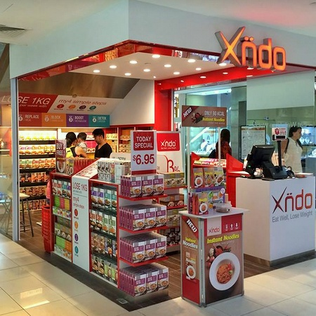 Xndo specialty food shop Singapore.