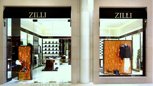 Zilli clothing store The Shoppes at Marina Bay Sands Singapore.