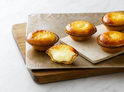 BAKE cheese tarts.