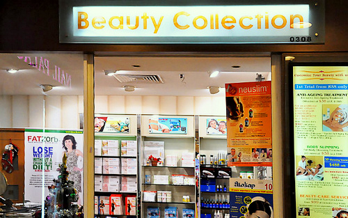 Beauty Collection store Hougang Mall Singapore.