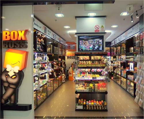 Box Boss store Bukit Panjang Plaza Singapore.