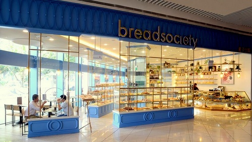 Bread Society bakery shop Singapore.