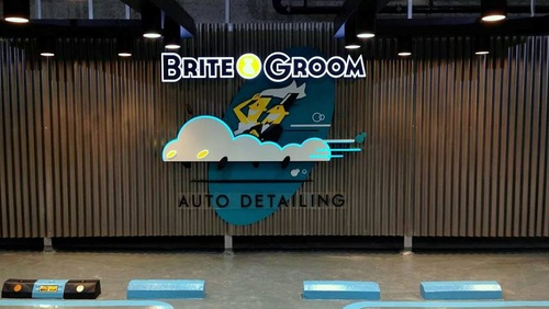 Brite & Groom auto detailing centre Singapore.