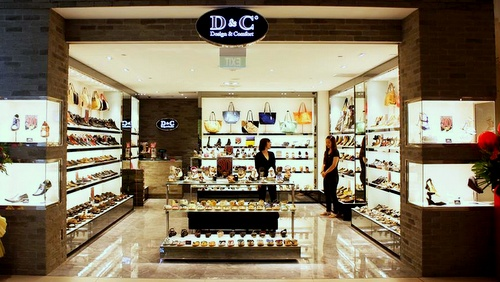 D&C (Design and Comfort) shoe shop Singapore.