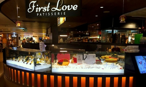First Love Patisserie cake shop Singapore.