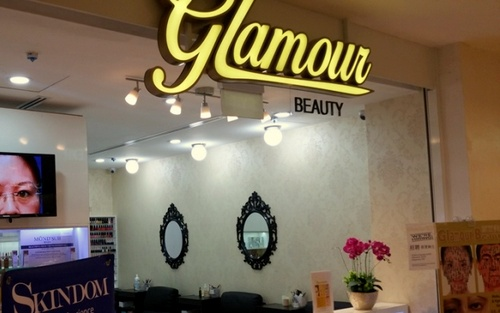 Glamour Beauty salon Hougang Mall Singapore.