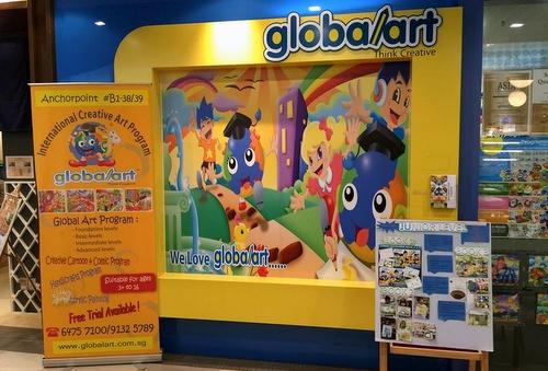 Global Art education centre Anchorpoint Singapore.